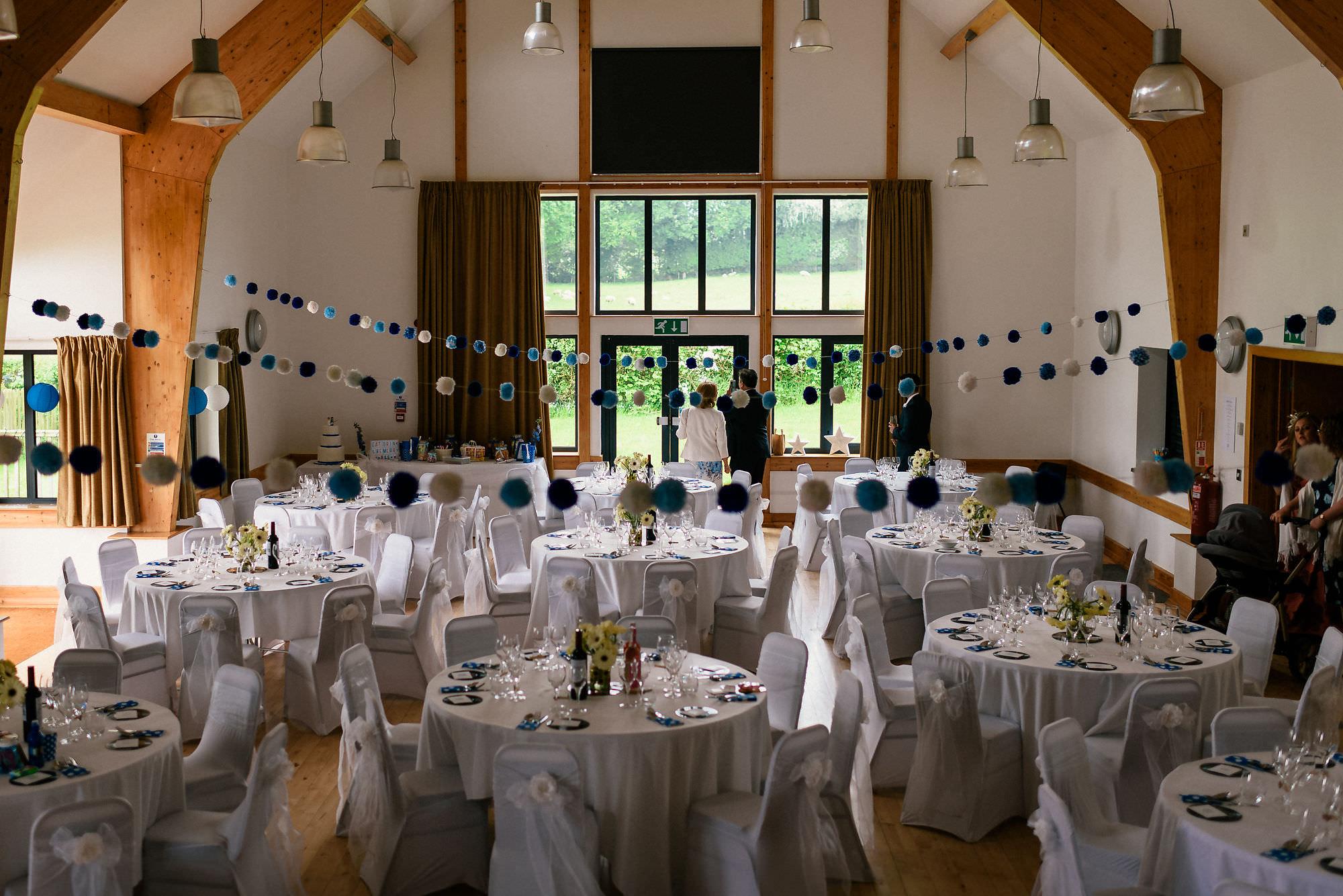 Mobberley village hall wedding