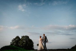 married couple at thorpe garden
